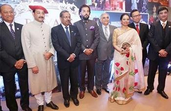 Royal Indian Luxury Show Showcases the Luxury side of India