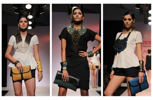 Indian Designer Feature - How to Style Sannam Chopra Accessories | Sannam Chopra Medevial Collection on the Catwalk