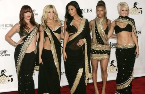 The Pussycat Dolls in Sarees | Fashionable Sarees - How To Style Your Saree By Event