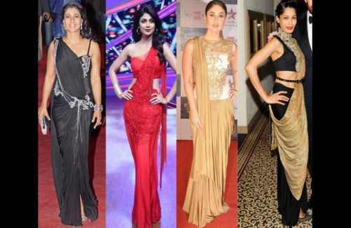 Popular Indian Style Evening Dresses - Strand of Silk's Stylish Thoughts Blog