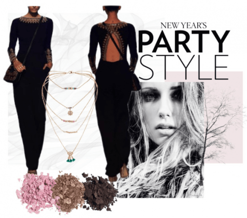 New Years Glamour | Polyvore featuring Stunning Anita Dongre Gown