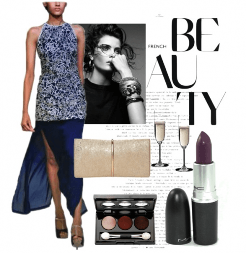 Glitz and Glamour | Polyvore featuring Sougat Paul Gown