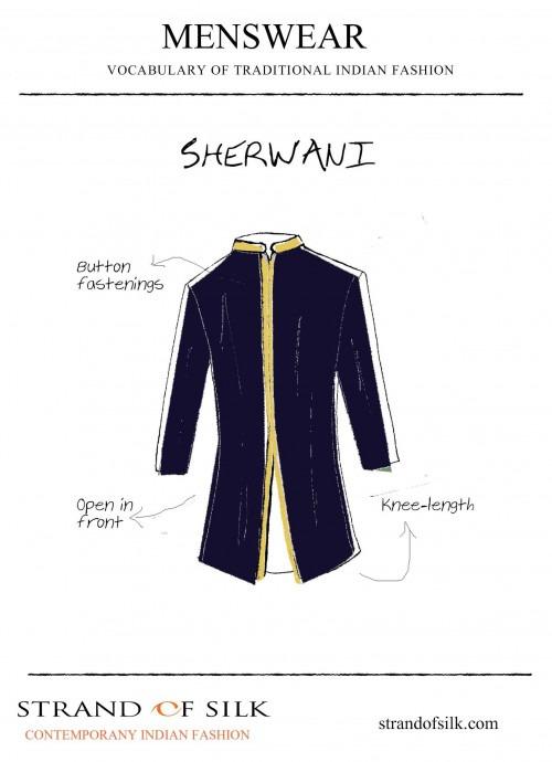 Menswear- What is a Sherwani?