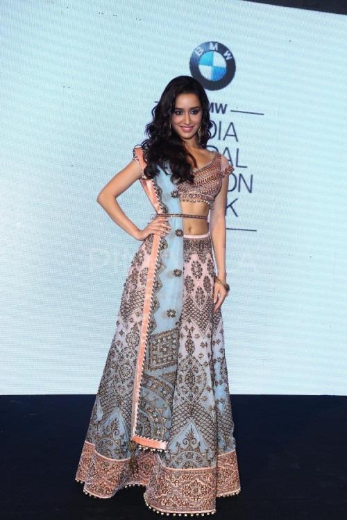 Shraddha Kapoor is the Face of India Bridal Fashion Week 2014
