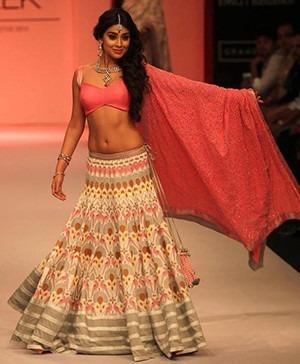 Bollywood Star Shriya Saran at Lakme Fashion Week