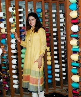 Shruti Sancheti - LFW 2013: Shruti Sancheti's Winter Collection