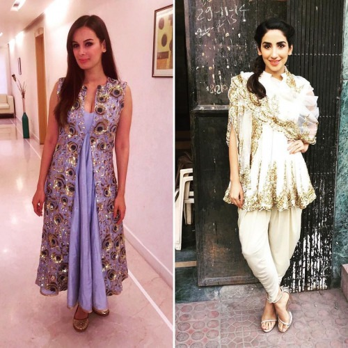 Evelyn Sharma and Parul Gulati in Siddartha Tytler
