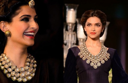 Sonam Kapoor and Deepika Padukone Wearing Polki Jewellery | Find Out All About Polki Jewellery in Our Simple Guide