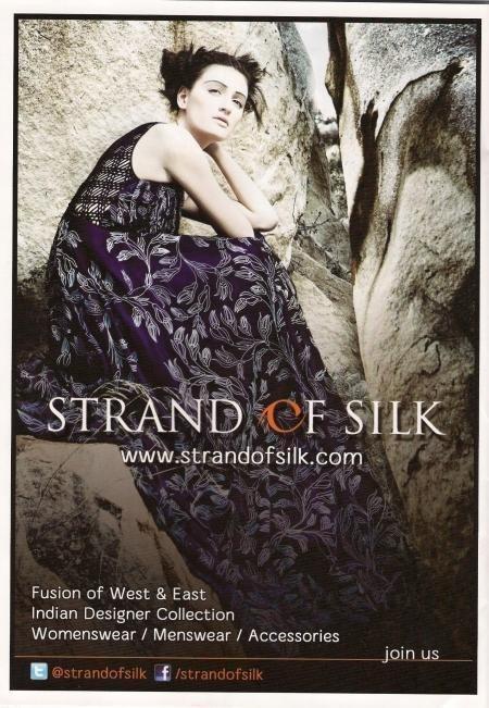 Strandofsilk.com Ad in Wimbledon Decoded