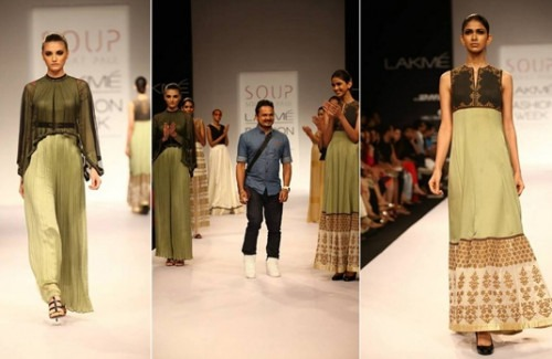 Sougat Paul's Collection at Lakme Fashion Week 2014 - Stylish Thoughts