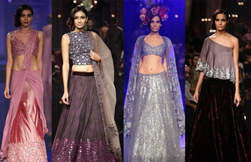 Spectacular Indian Bridal Wear at Lakmé Fashion Week   Bollywood Showstoppers