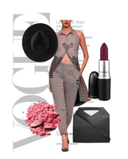 The perfect day time outfit for any occasion, featuring this stunning outfit by Sougat Paul