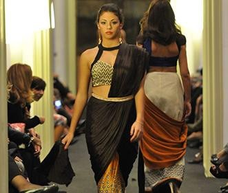 Strand of Silk Presents Charity Fashion Show at Palazzo Sant'elia in Palermo | Sougat Paul Catwalk