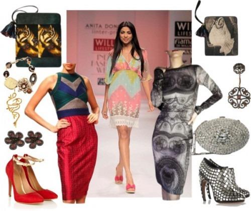 strand of silk - indian fashion designer - anita dongre - pencil dresses