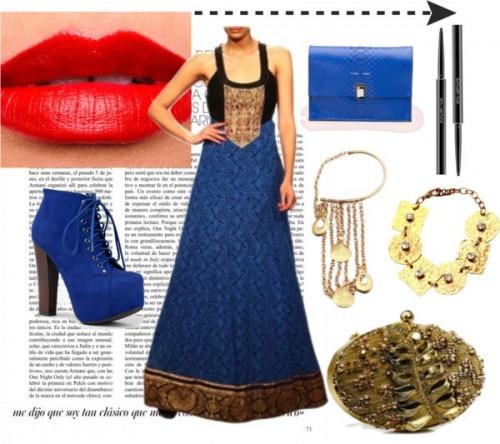 strand of silk - indian fashion designer - anita dongre - ponte dress