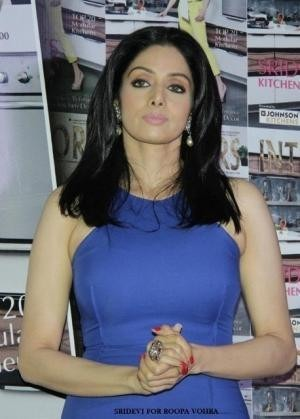 Bollywood Actress Sri Devi for Indian Jewellery Designer Roopa Vohra