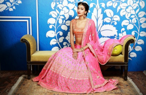 Anita Dongre Pink Lehenga | Indian Wedding Lookbook - Styles for Every Event