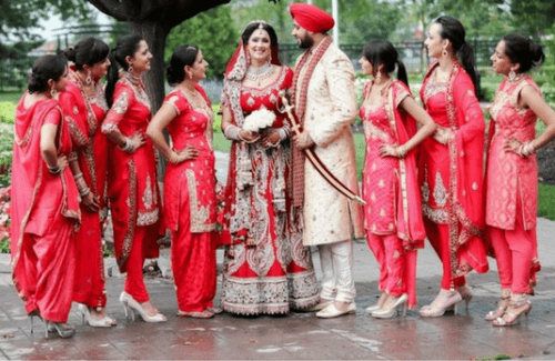 Stunning Indian Bridesmaid Dresses for Every Budget
