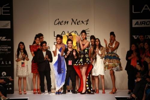 Gen next designers at Lakme Fashion Week