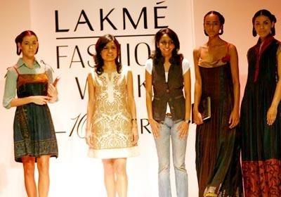 Designer duo Myoho Showcase New Summery Collection | Designer Duo Myoho at Lakme Fashion Week