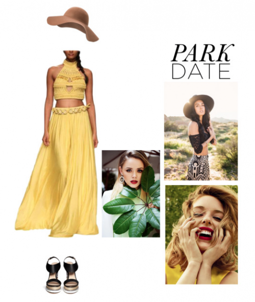 Park Date Attire Featuring Gorgeous Rinku Sobti Two Piece | Polyvore Featuring Rinku Sobti Two Piece