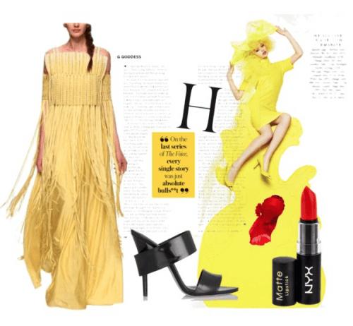Spring Yellows | Polyvore Featuring Rinku Sobti Dress