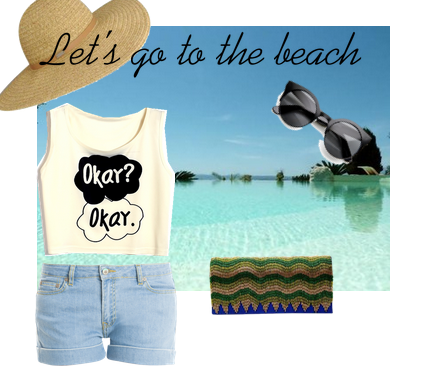 Kaleido-Let's go to the Beach! Featuring a Striking Blue Clutch by Kaleido
