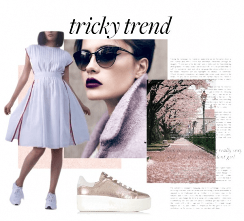 Tricky Trend | Polyvore Featuring Abraham & Thakore Dress
