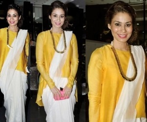 Bollywood Celeb - Shaheen Abbas in Payal Singhal for Gehna Jewellers
