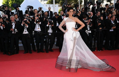 Sonam Kapoor at Cannes | Our Favourite Bollywood Celebrity Dresses of Recent Times