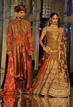 Indian Designer Tarun Tahiliani Bridal