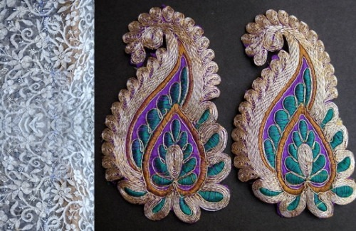 Crafts behind how to dress up for an Indian wedding-strand-of-silk