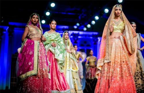 Best Bridal Colour Picks at Wills Lifestyle Fashion Week SS15 | Fashion Designers