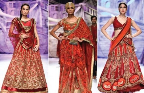 The Best of Bridal Wear by Indian Designers