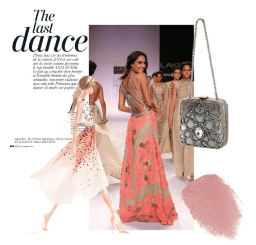 The Last Dance - Featuring Stunning Clutch Bag by Indian Designer Meera Mahadevia