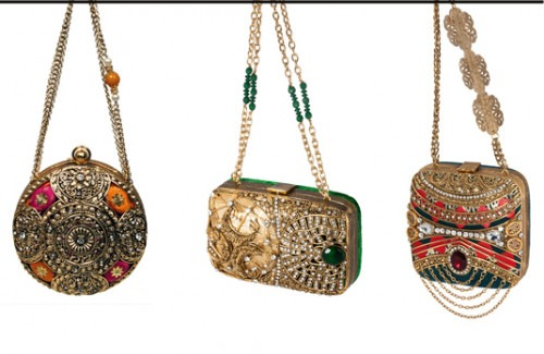 Three Clutch Bag | Indian Wedding Accessories: The Perfect Clutch Bag