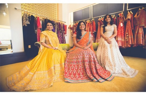 Twirling with Ease in Anita Dongre's Designs