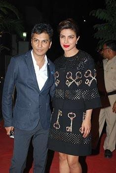 Vikram Phadnis Supported by Bollywood Celebrities for His New Store's Launch- Vikram Phadnis and Priyanka Chopra
