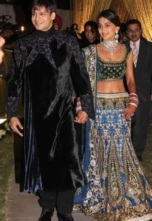 Designer Tarun Tahiliani Dress on Wedding Day