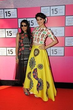 Waiting for Lakmé Fashion Week Indian Designers Revealing their Collections|Taapsee Pannu wearing Neha Agarwal creation at LFW