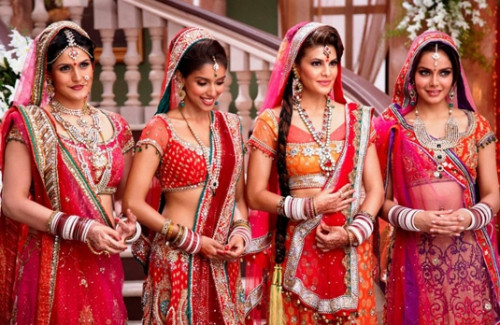 Bollywood Beauties In Traditional Designer Wedding Lehengas