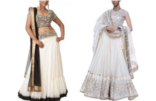 The Beautiful Variations of a White Indian Wedding Dress