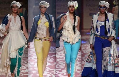 Ritu Beri at Lakmé Fashion Week Winter/Festive 2012 - Stylish Thoughts