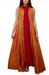 Indian Fashion Designers - Myoho - Contemporary Indian Designer - Warli Embroidered Shirt Kurta - MYO-SS16-MYO-250