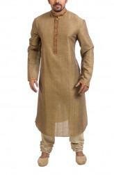 Indian Fashion Designers - Poonam Kasera - Contemporary Indian Designer - Mirror Work Kurta - PKR-SS16-DG-332