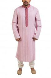 Indian Fashion Designers - Poonam Kasera - Contemporary Indian Designer - Maube Hand Embroidered Kurta - PKR-SS16-DG596