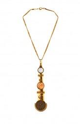 Indian Fashion Designers - Rejuvenate Jewels - Contemporary Indian Designer - Capture Time Necklace - RJJ-SS16-RJN877