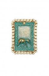 Indian Fashion Designers - Rejuvenate Jewels - Contemporary Indian Designer - Elegant Elephant Finger Ring - RJJ-SS16-RJR257
