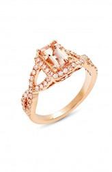 Indian Fashion Designers - Strand of Silk - Contemporary Indian Designer - Gorgeous Whit Diamond Ring - SOS-AW15-CJ-R11834P-MO