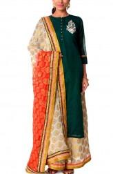 97a7e39aea Green Banarsi Salwar Suit · Anokherang. £100. Indian Fashion Designers -  Anokherang - Contemporary Indian Designer ...
